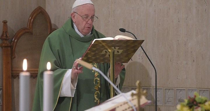 """El Papa se pregunta: """"¿Con qué medida juzgo a los demás? Así seré juzgado"""""""