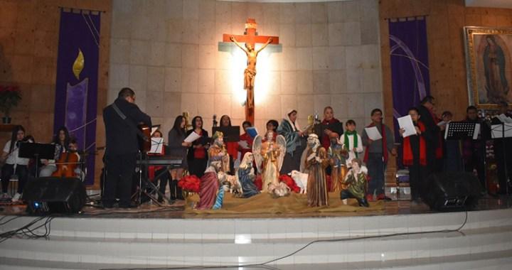 Brindaron precioso recital navideño a la comunidad