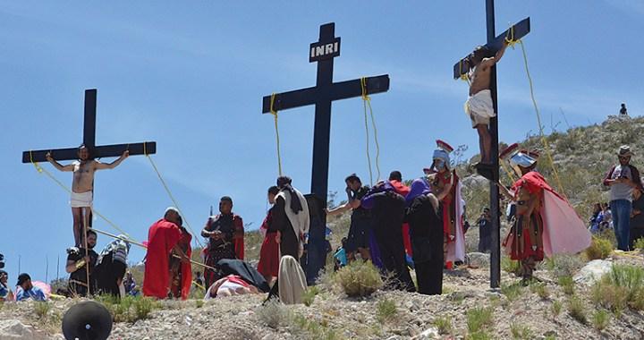 Invitan a participar en Viacrucis  de Santa María de la Montaña