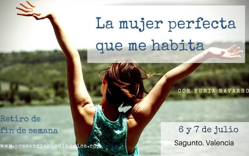"""6 y 7 de julio. Retiro """"La mujer perfecta que me habita"""""""