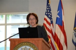 Myrna Comas, Secretaria del Departamento de Agricultura. (Foto/Suministrada)