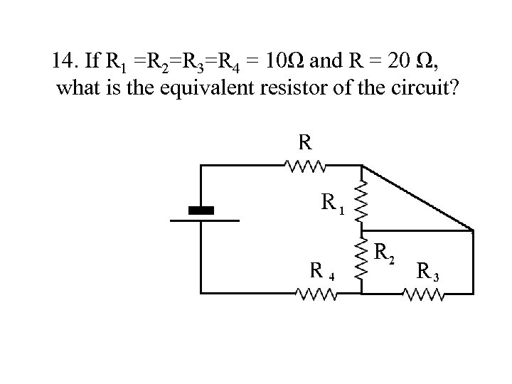 FE Exam Review Electrical Circuits The FE exam