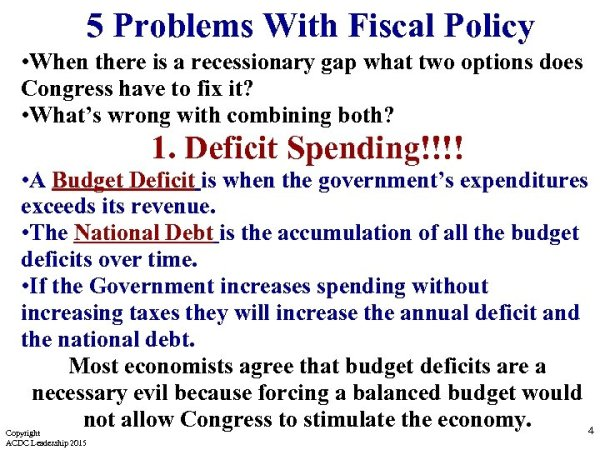 Draw and Practice Congress uses discretionary fiscal policy