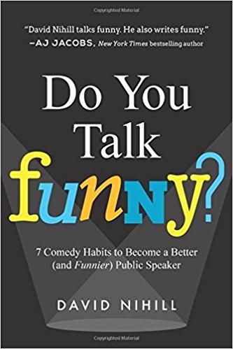 """Libro """"Do You Talk Funny"""" de David Nihill"""