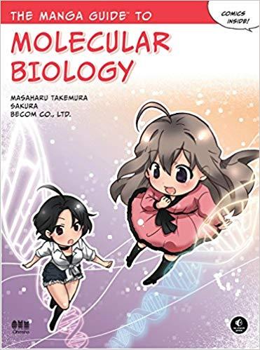 "Portada del libro ""The Manga Guide to Molecular Biology"" de Masaharu Takemura"