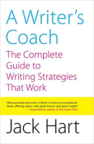 "Libro ""A Writer's Coach. The Complete Guida to Writing Strategies That Work"" de Jack Hart"