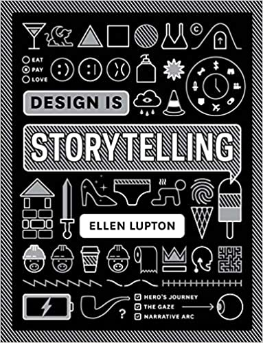 "Libro ""Design is Storytelling"" de Ellen Lupton"