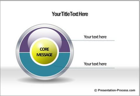 2 Sides PowerPoint Diagram Template