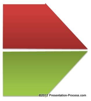 Flip Arrow Shape