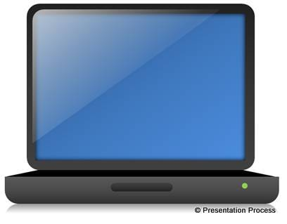 Laptop Graphic Tutorial from Presentation Process