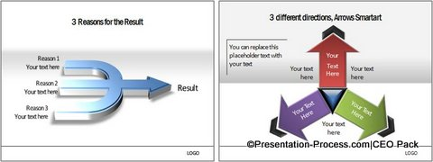 PowerPoint Arrow 30 from CEO pack