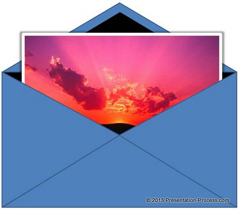 Picture in Envelope- PowerPoint