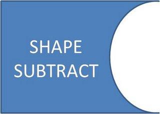 Shape Subtract