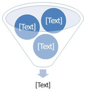 SmartArt Filter Diagram