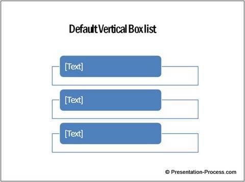 Defailt Vertical text Box