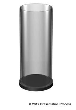 Transparent Cylinder inPowerPoint