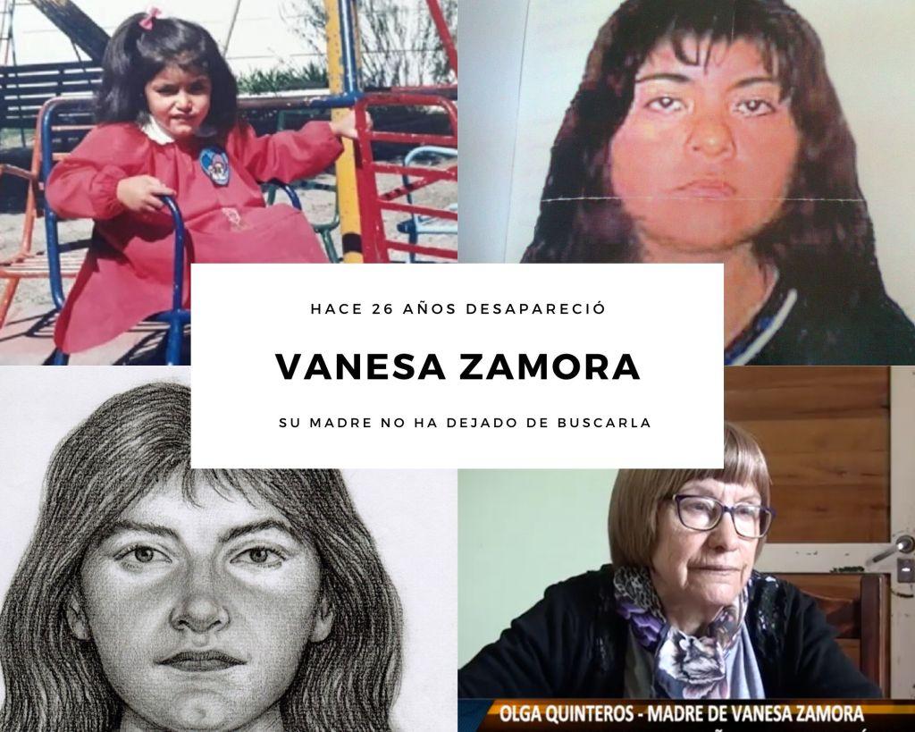 Vanesa Zamora desaparecida