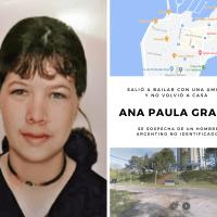 Ana Paula Graña - Fue a bailar con una amiga y no se la volvió a ver