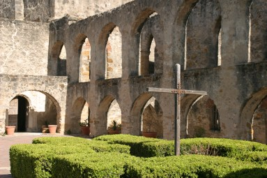 Cross and arches