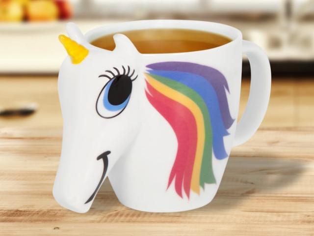 Färgskiftande Unicorn-Mugg Image