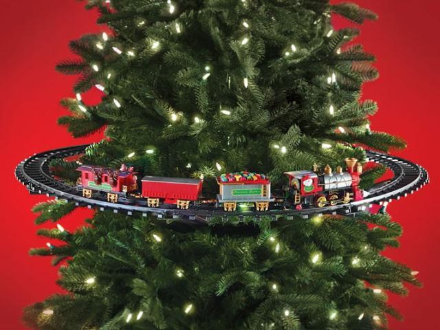 Julgranståg Image