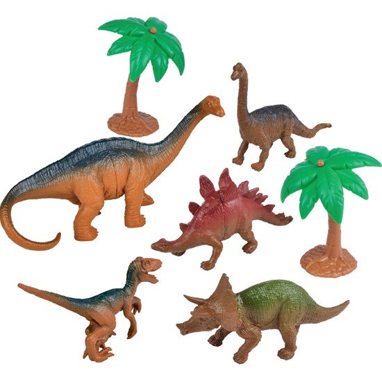 Lekset, Dinosaurier, 7 delar Image
