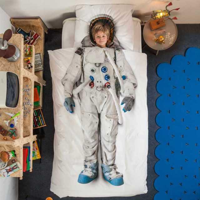 Snurk sängkläder - Astronaut Image