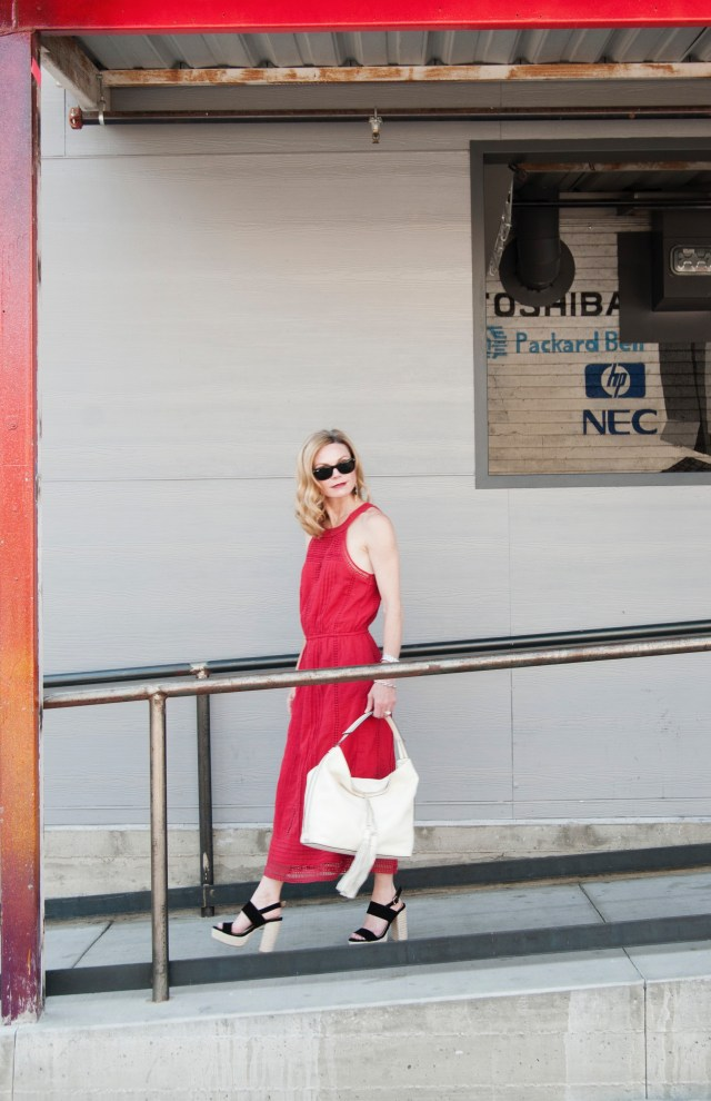 red-boho-dress