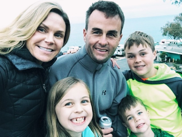 family-selfie-malibu