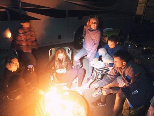 fireside-family-camping