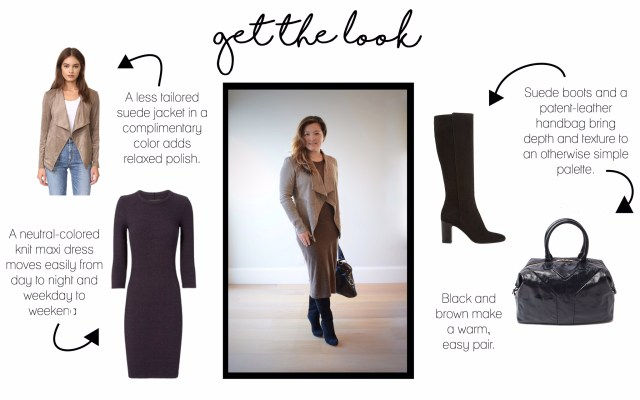 suede-jacket-maxi-dress