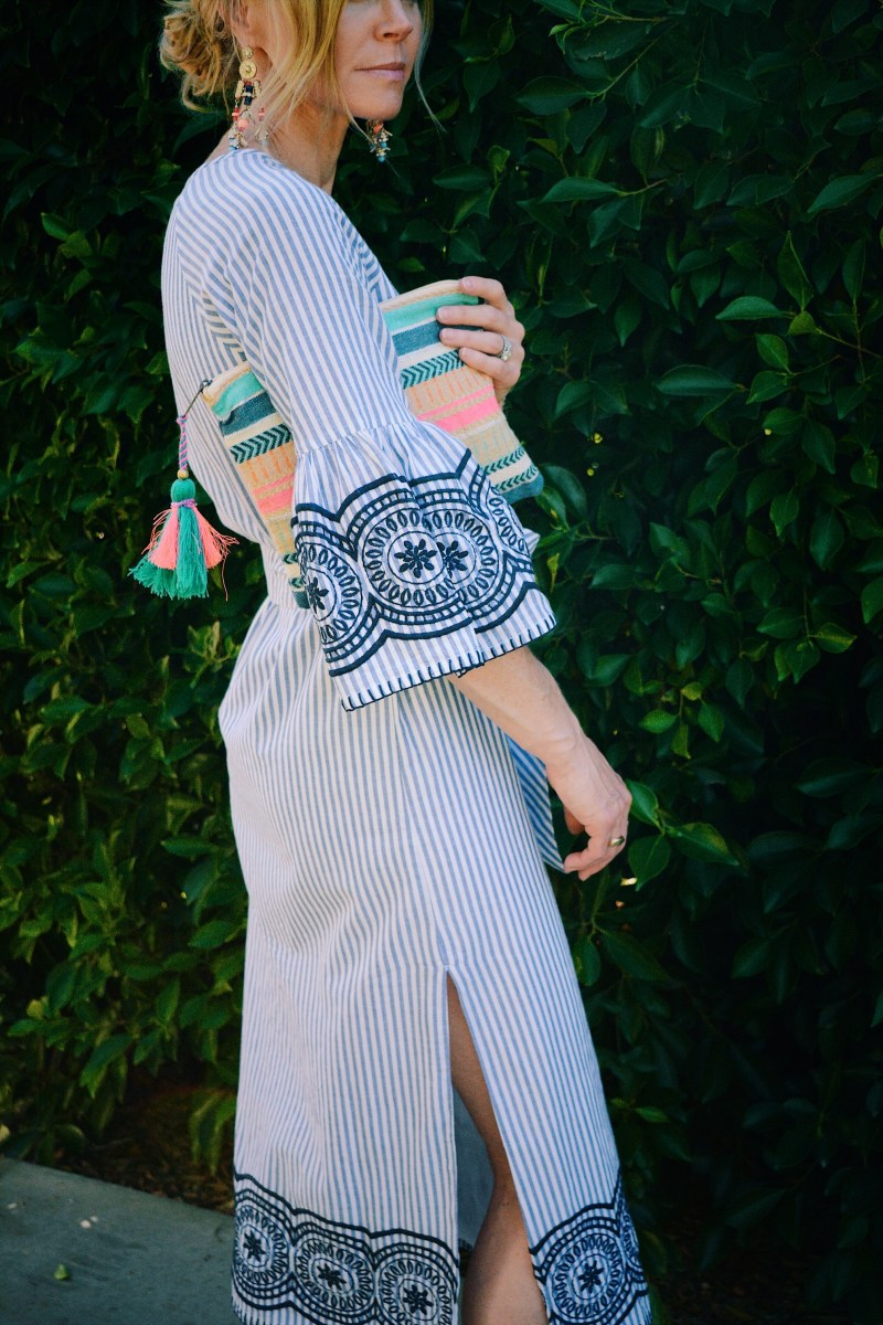 The Perfect Long Sleeved Summer Dress with Espadrilles