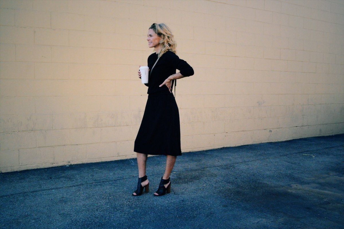 Black-on-Black: A Timeless Staple Outfit
