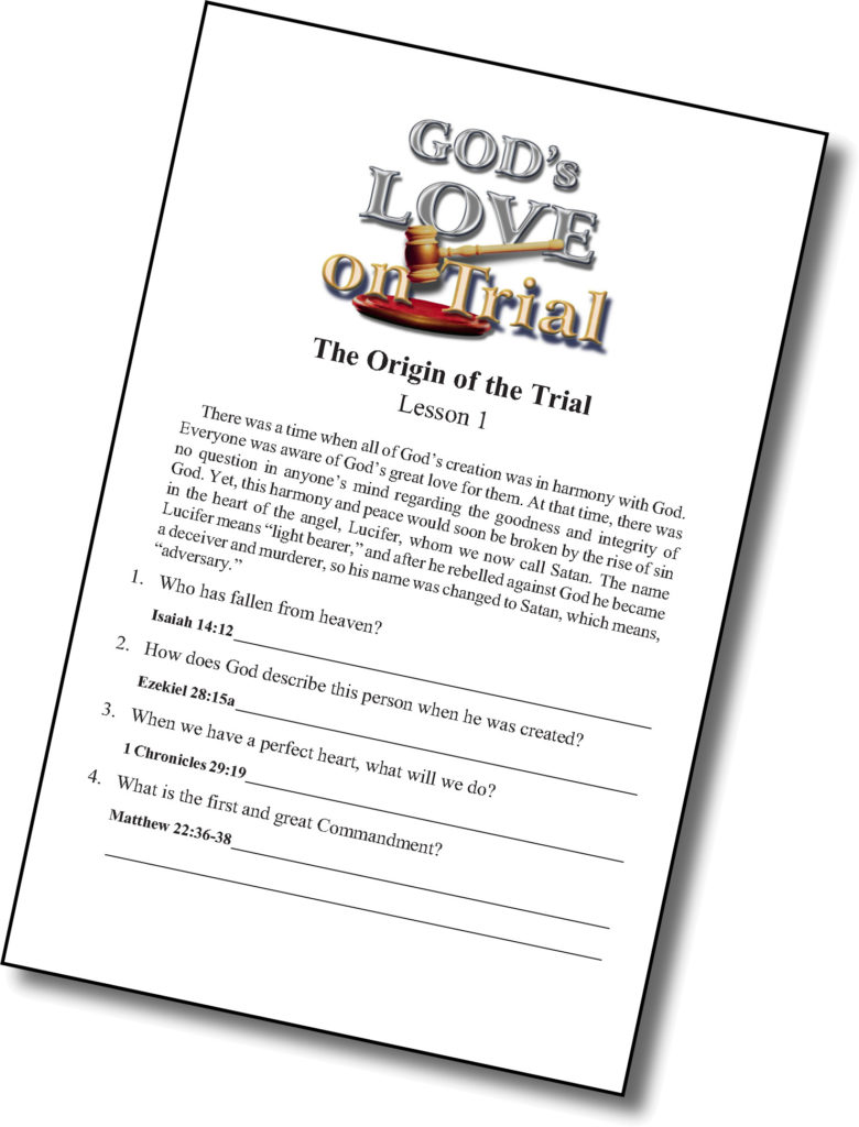 God's Love on Trial