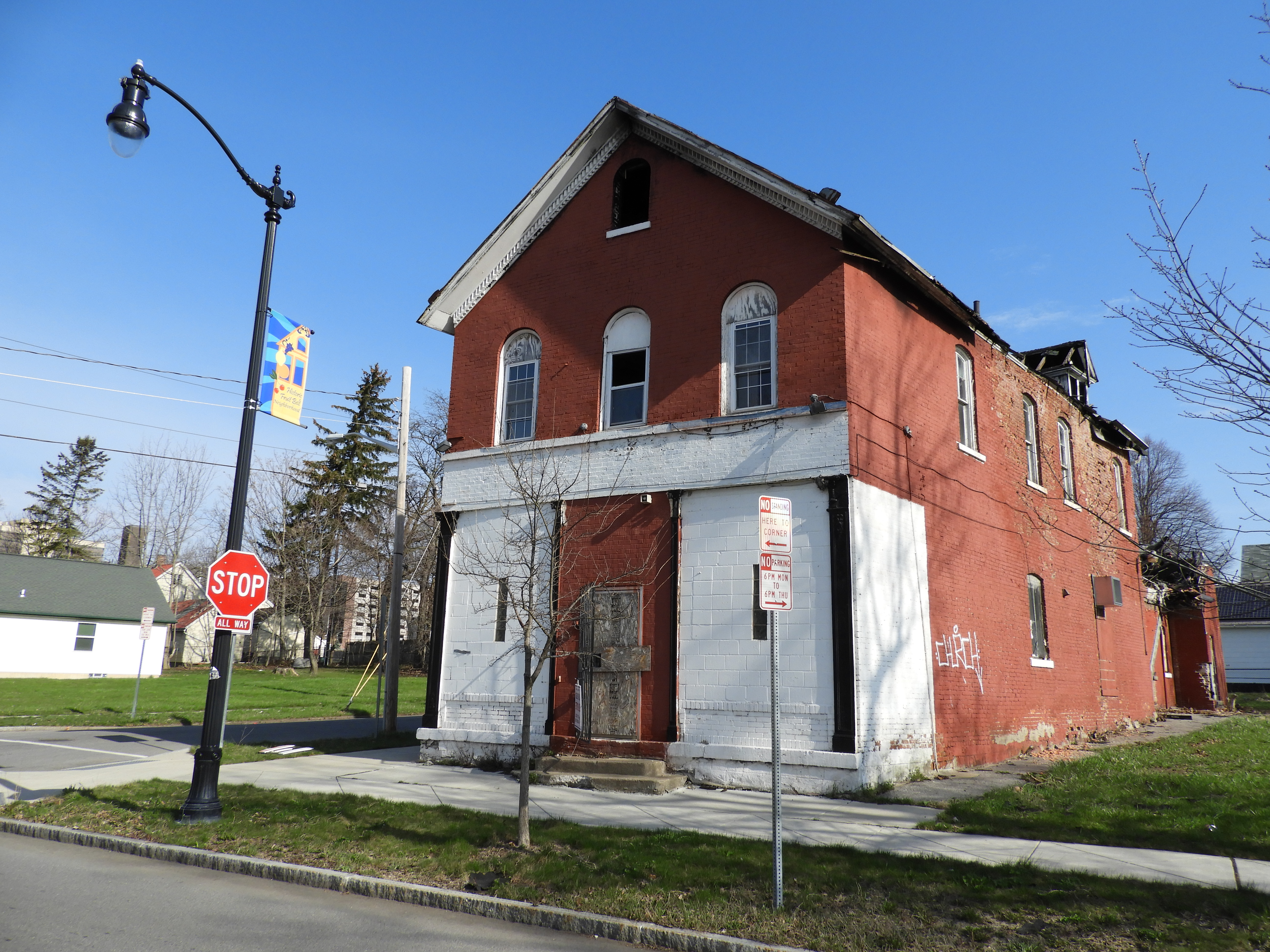 An emergency building will be demolished on the Robespierre in Petersburg 72