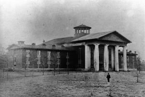 Chambers Hall at Davidson College, 1856-1860