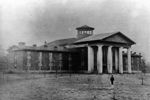 Chambers Hall at Davidson College, 1856-1860