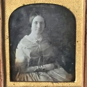 Letitia Moreherad Walker daguerreotype
