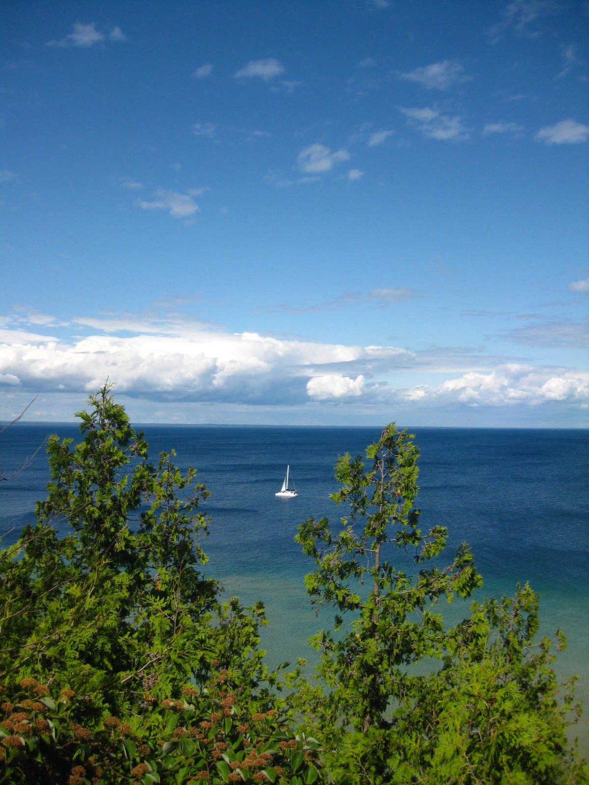 Another view of Lake Superior from Mackinac Island.