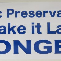 Preservation Bumper Stickers