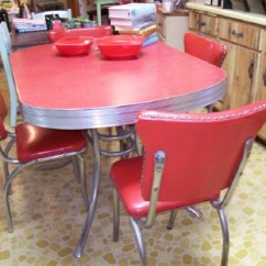 Retro Kitchen Tables Filter A 50 S Table And Chairs Cleaning Chrome Preserve Was Not On My January Project List But I Couldn T Pass This Up Even Though We Don Really Have Room For Another In The Shop