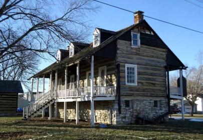 Barbagallo home in Kimmswick before disrepair