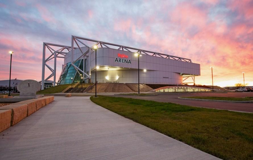 Kemper, now HyVee Arena, in 2019.