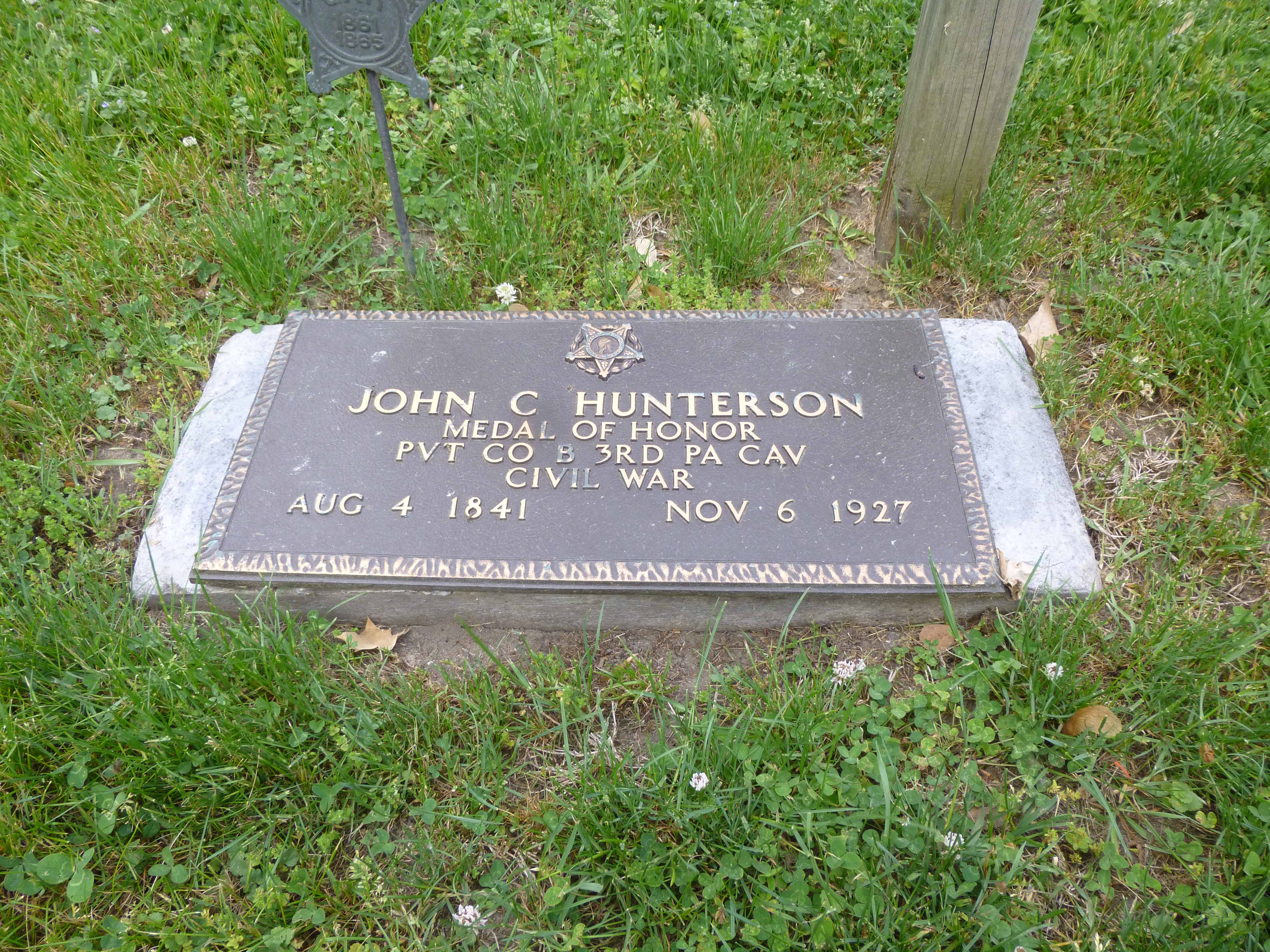 Read more about the article John C. Hunterson, Civil War Congressional Medal of Honor Recipient