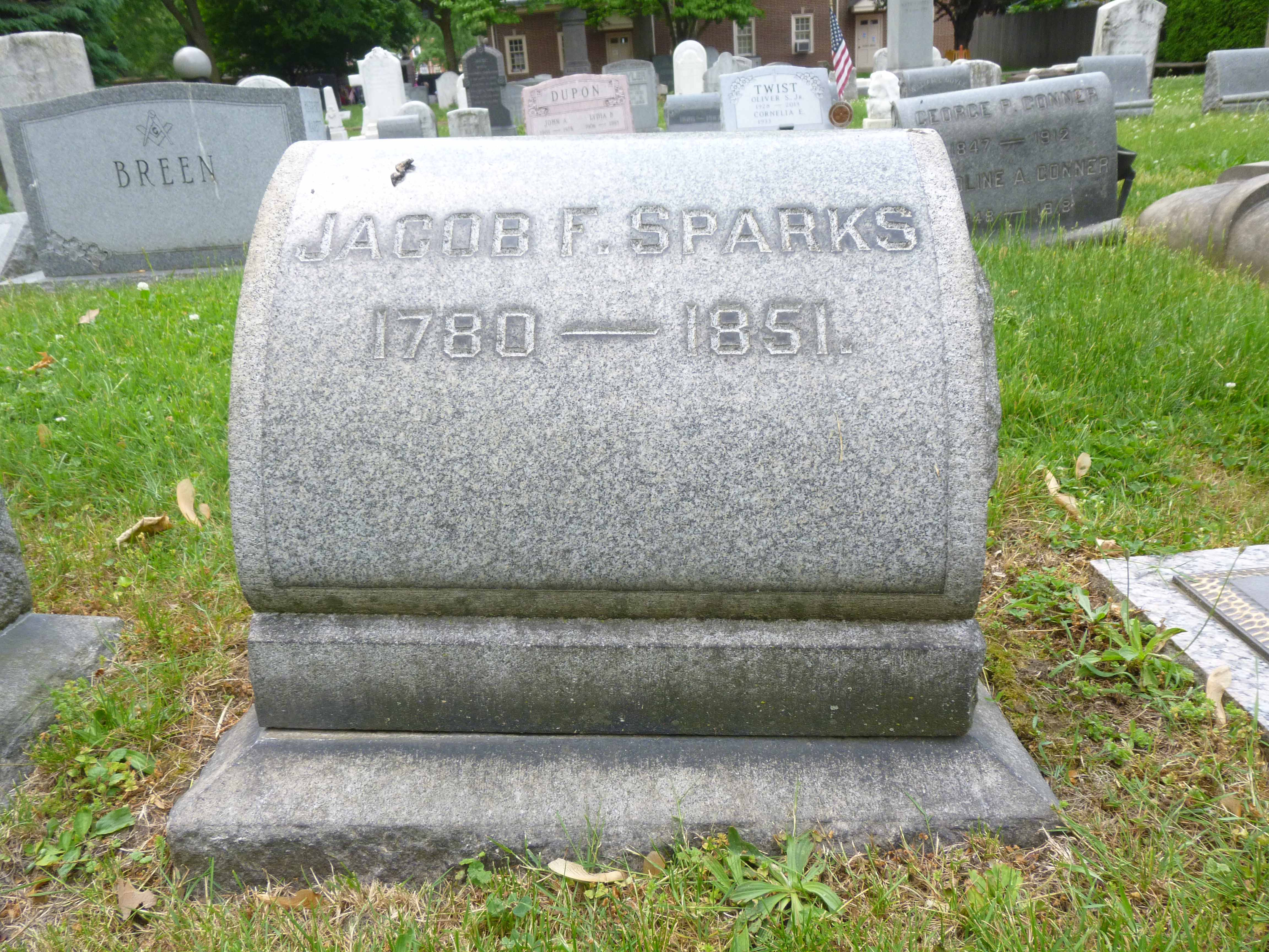 Read more about the article Jacob F. Sparks