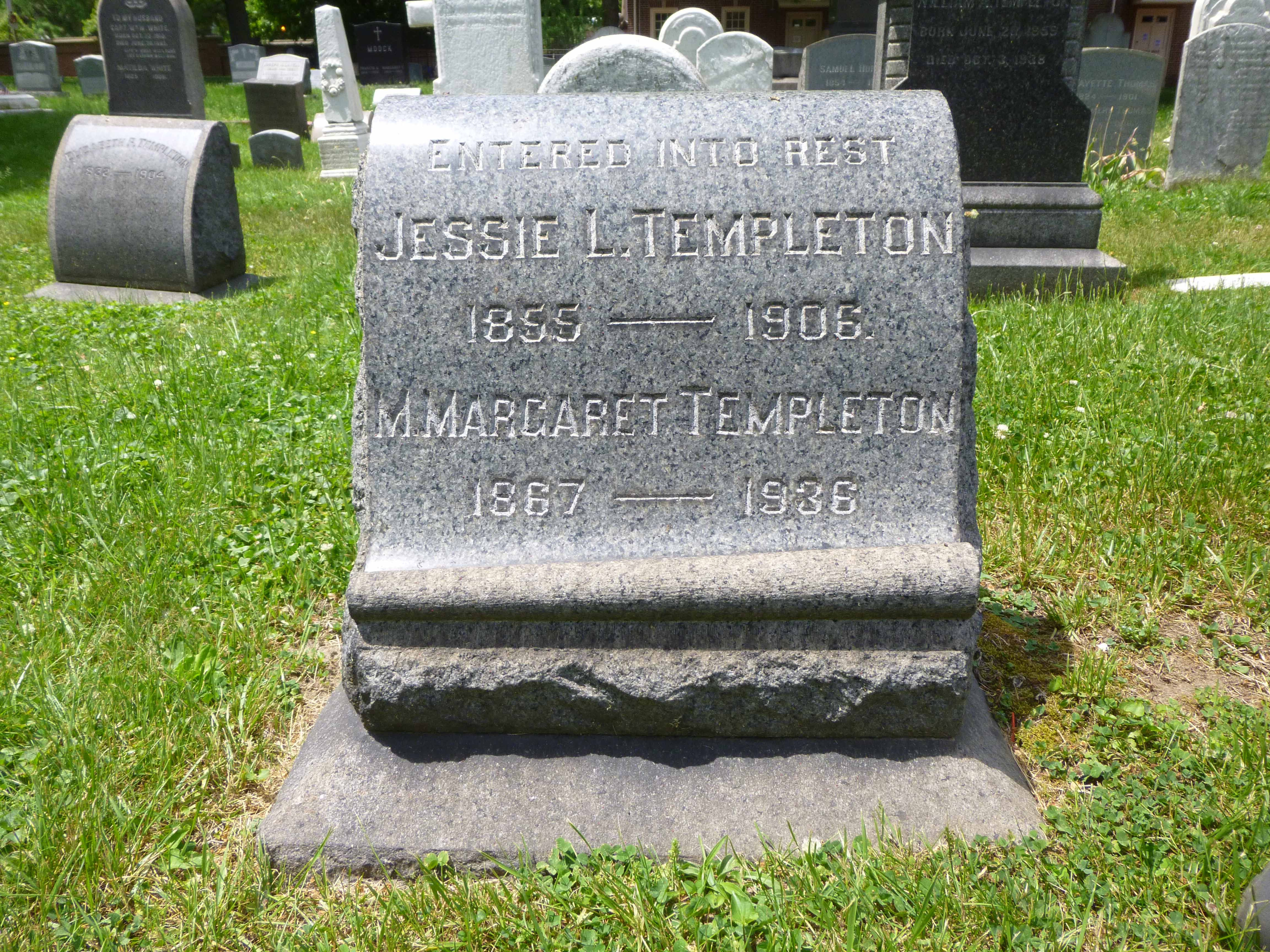 Read more about the article Jessie and Margaret Templeton