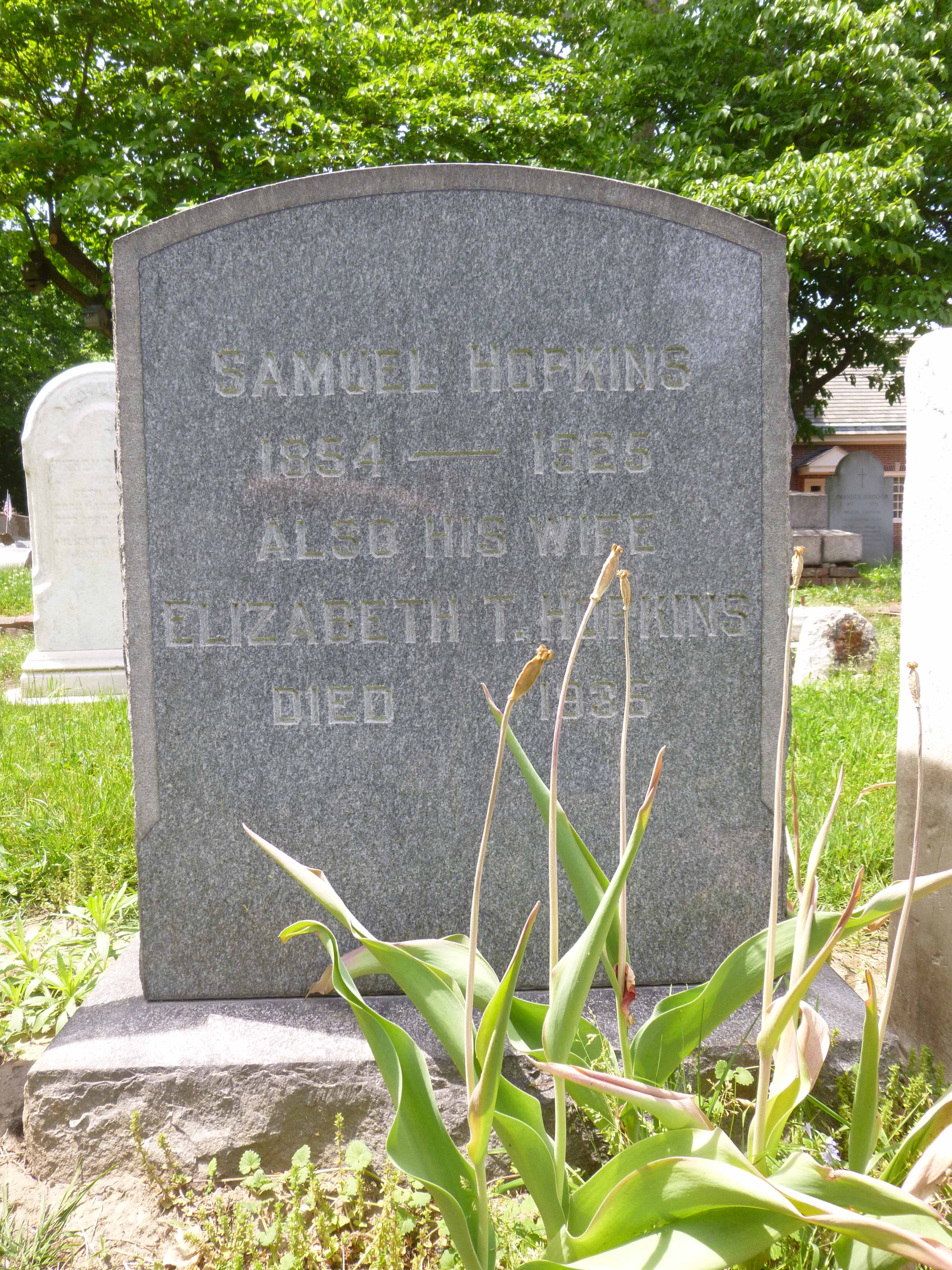 Read more about the article Samuel and Elizabeth Hopkins