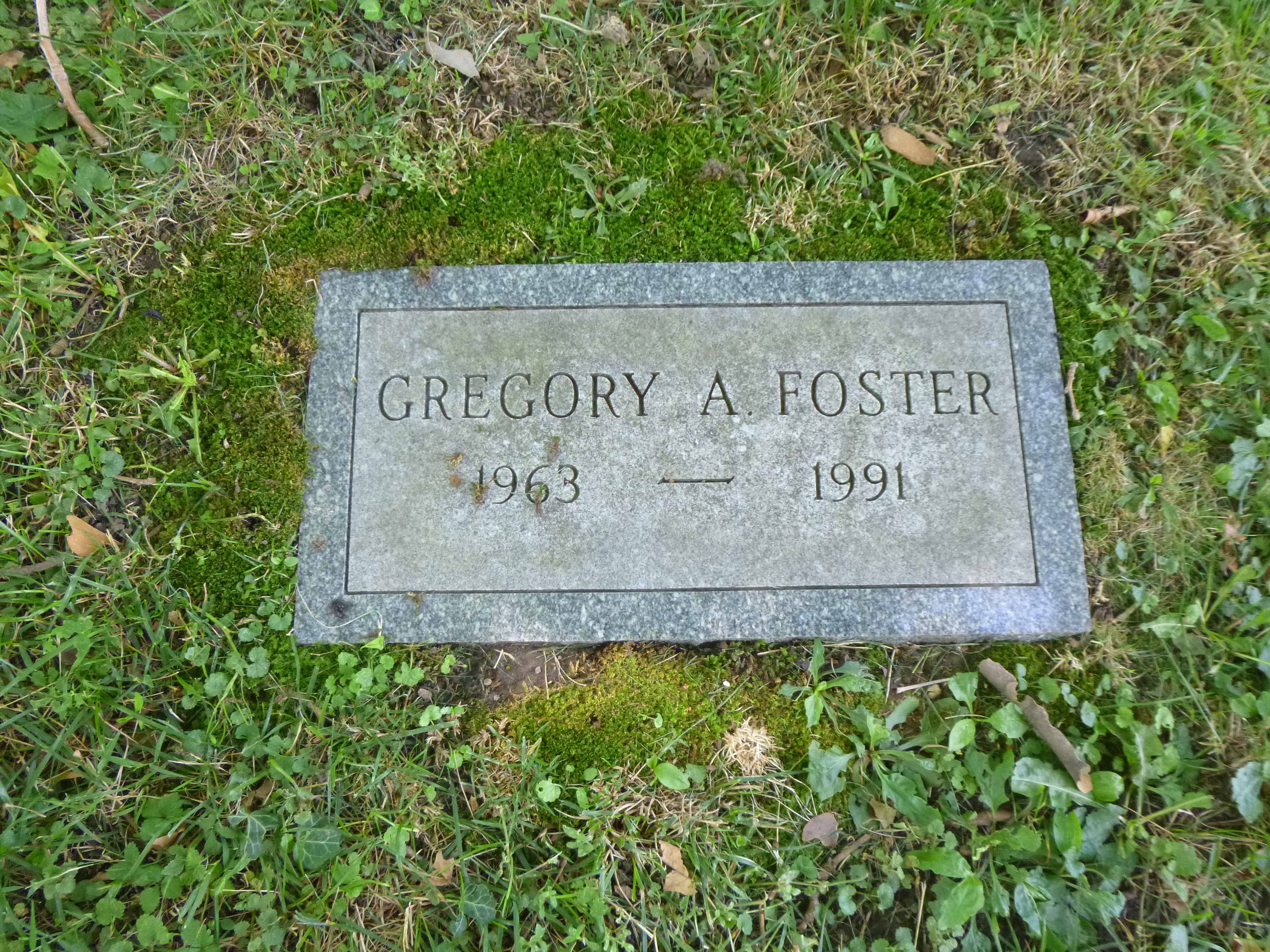 Read more about the article Gregory Foster