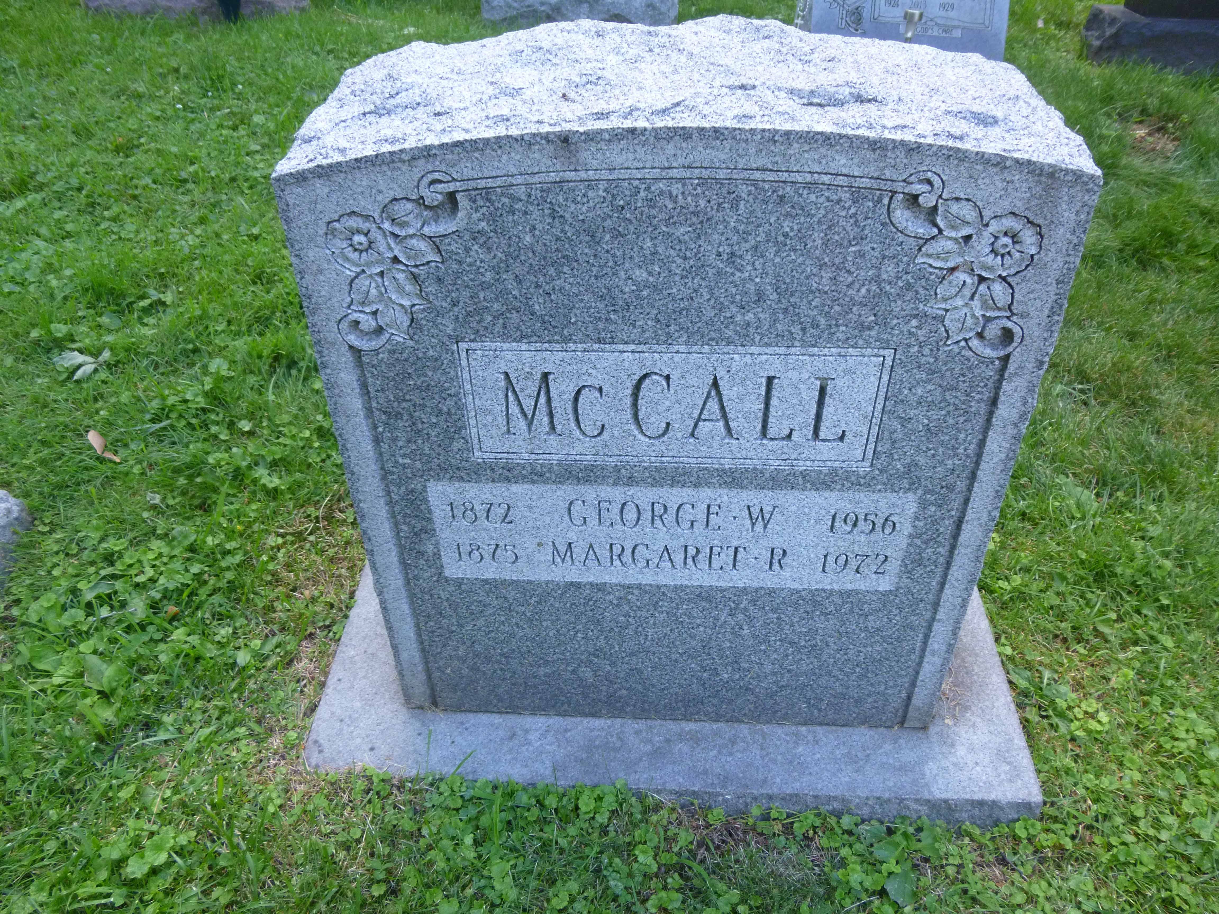 Read more about the article George and Margaret McCall