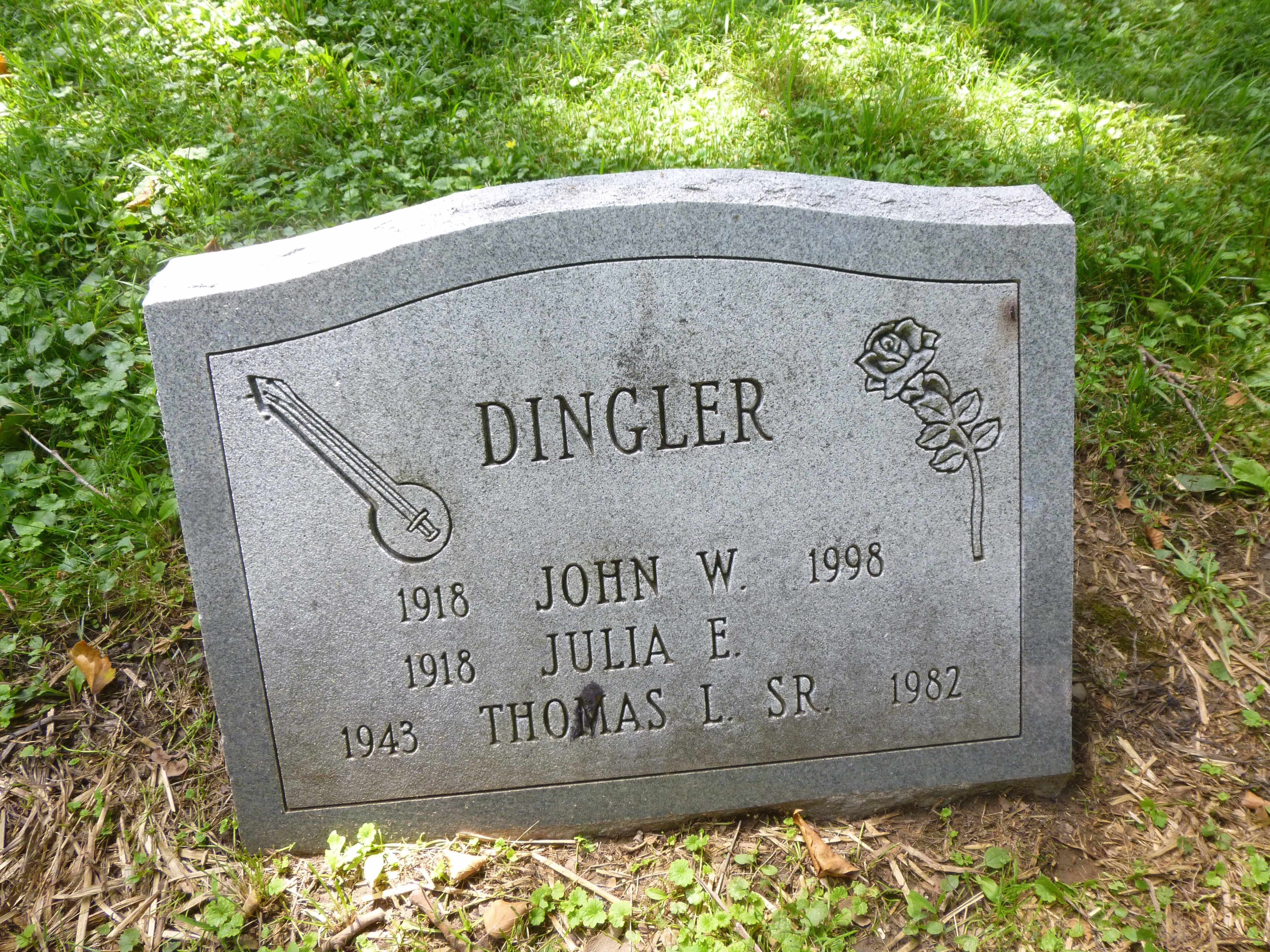 Read more about the article John, Julia and Thomas Dingler